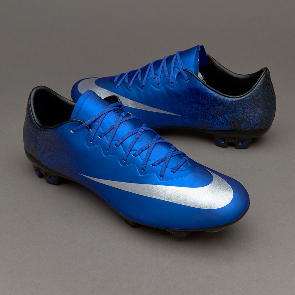 3899d361a Nike Mercurial Vapor X CR FG - Deep Royal Blue Metallic Silver Racer Blue