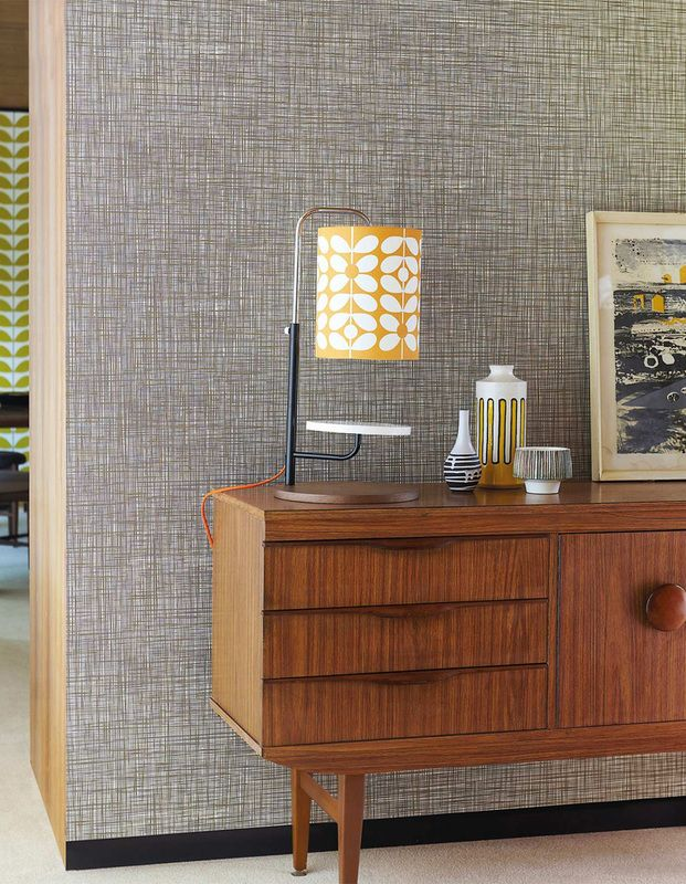 Bedroom Creator Online: Orla Kiely - Scribble Wallpaper