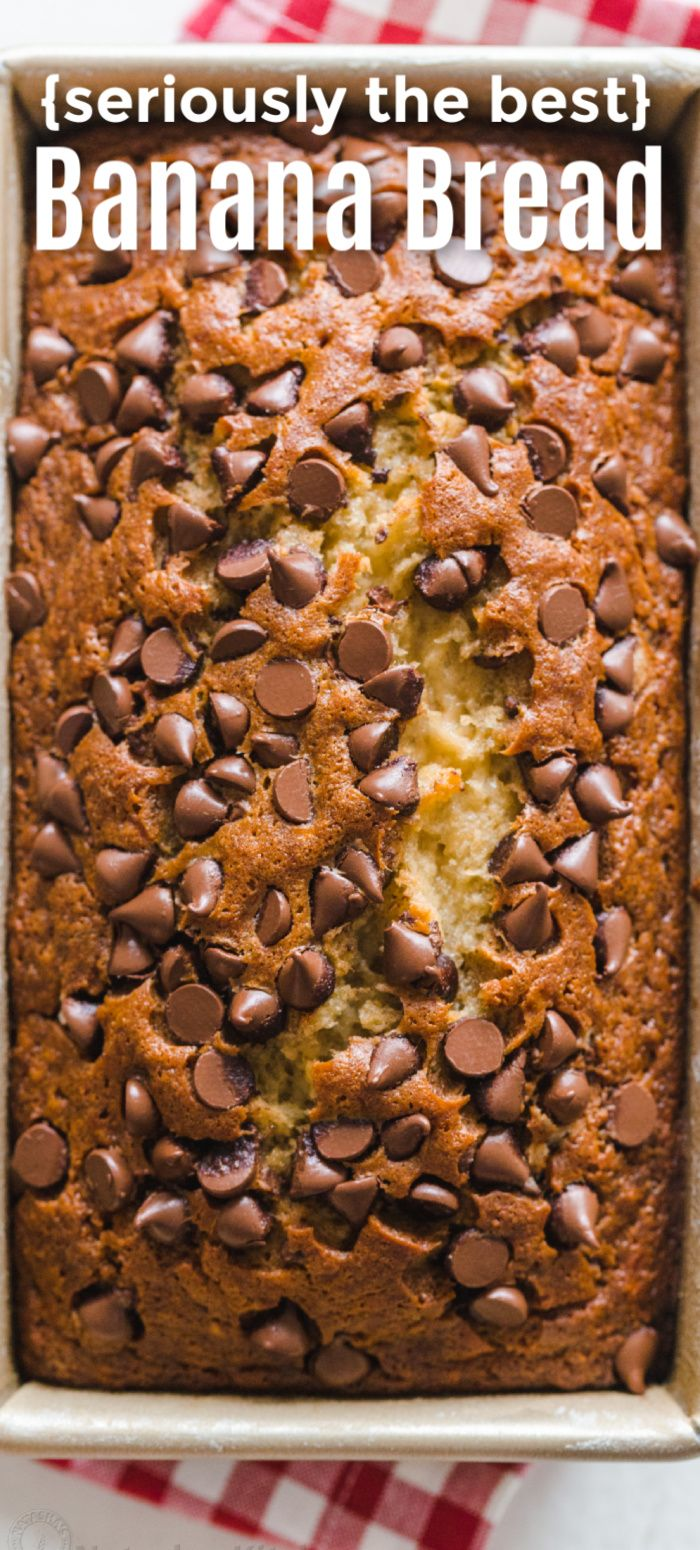 Chocolate Chip Banana Bread - NatashasKitchen.com