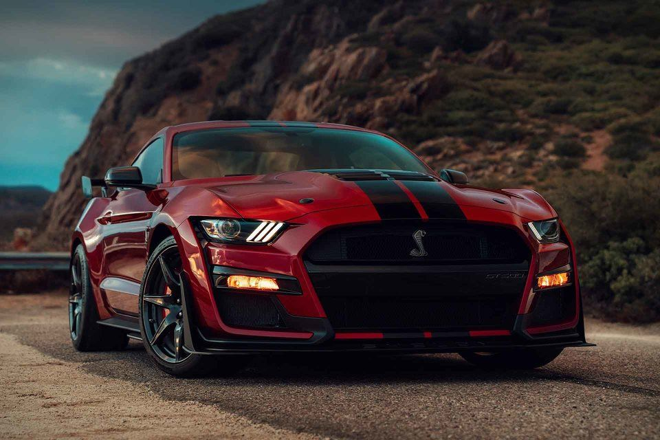 2020 Ford Mustang Shelby Gt500 Coupe Ford Mustang Shelby Gt500 Shelby Mustang Gt500 Mustang Shelby