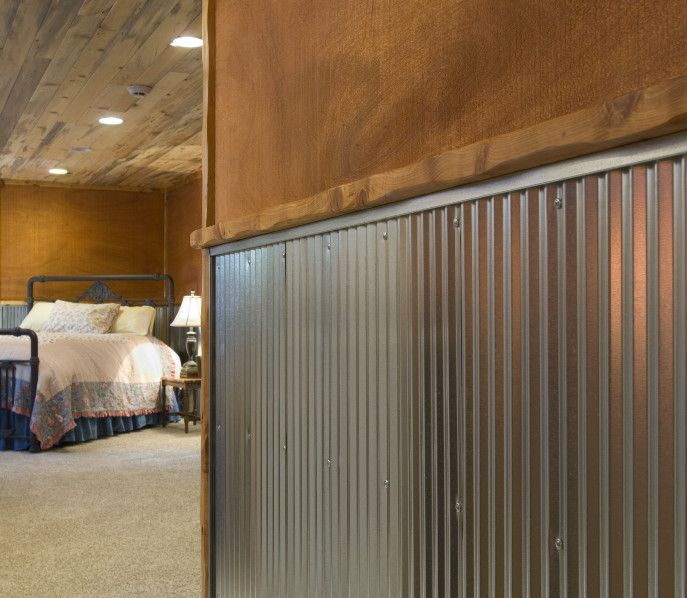 Bridger Steel Interior Siding Available In Colors And