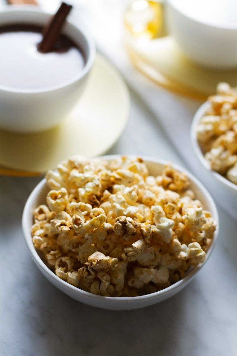 Cinnamon Chipotle Spiced Popcorn   http://saltandwind.com