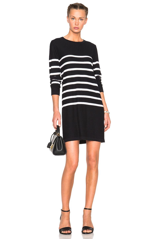 A.p.c. Woman Serberg Striped Silk Mini Dress Black Size M A.P.C. Quality Hot Sale Discount Wiki lVNZlfiR3
