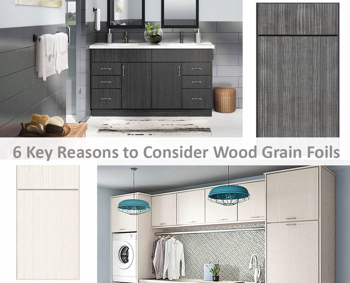 6 Key Reasons to Consider Wood Grain Foils | Pinterest | Slab doors ...