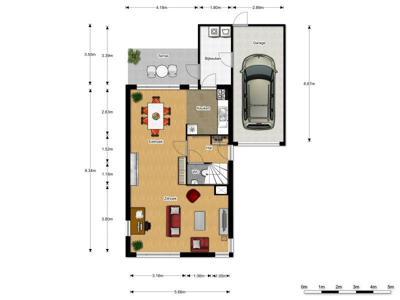 L vormige kamer inrichten google zoeken inrichting for Kamer inrichten plattegrond