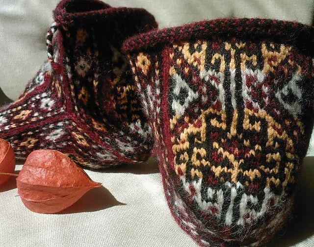 Ravelry: BelAmie's Türkmen Goat's Head Socks