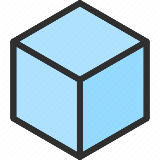 Cube Isometric Object Shape Icon Download On Iconfinder Isometric Cube Isometric Cube