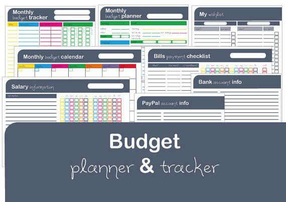 my budget planner  u0026 tracker