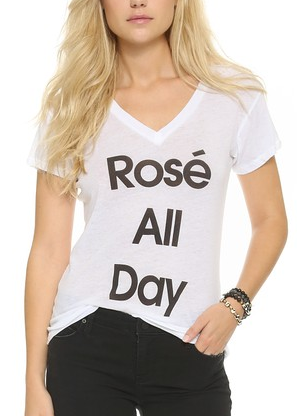 ros eall day black and white shirt
