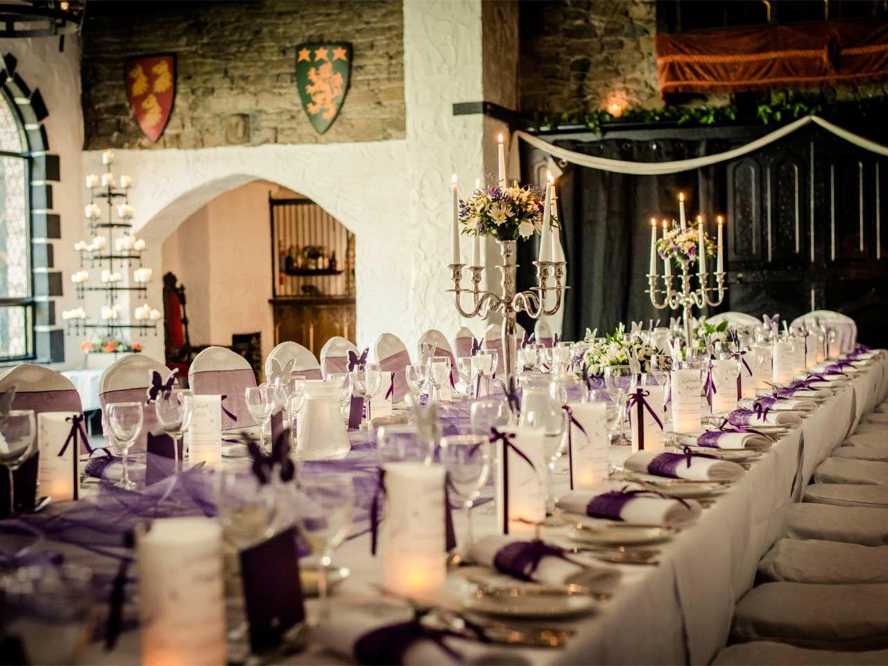interesting wedding venues ireland%0A photos of kinnitty castle  ireland  Banquet TablesWedding VenuesPhotos