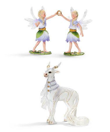 Love this Bayala Figurine Set by Schleich on #zulily! #zulilyfinds