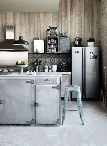 1000 images about cuisine on pinterest - Cuisine Esprit Loft Industriel