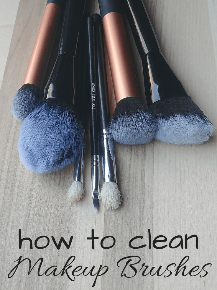 How to Clean Makeup Brushes Health and Wellness