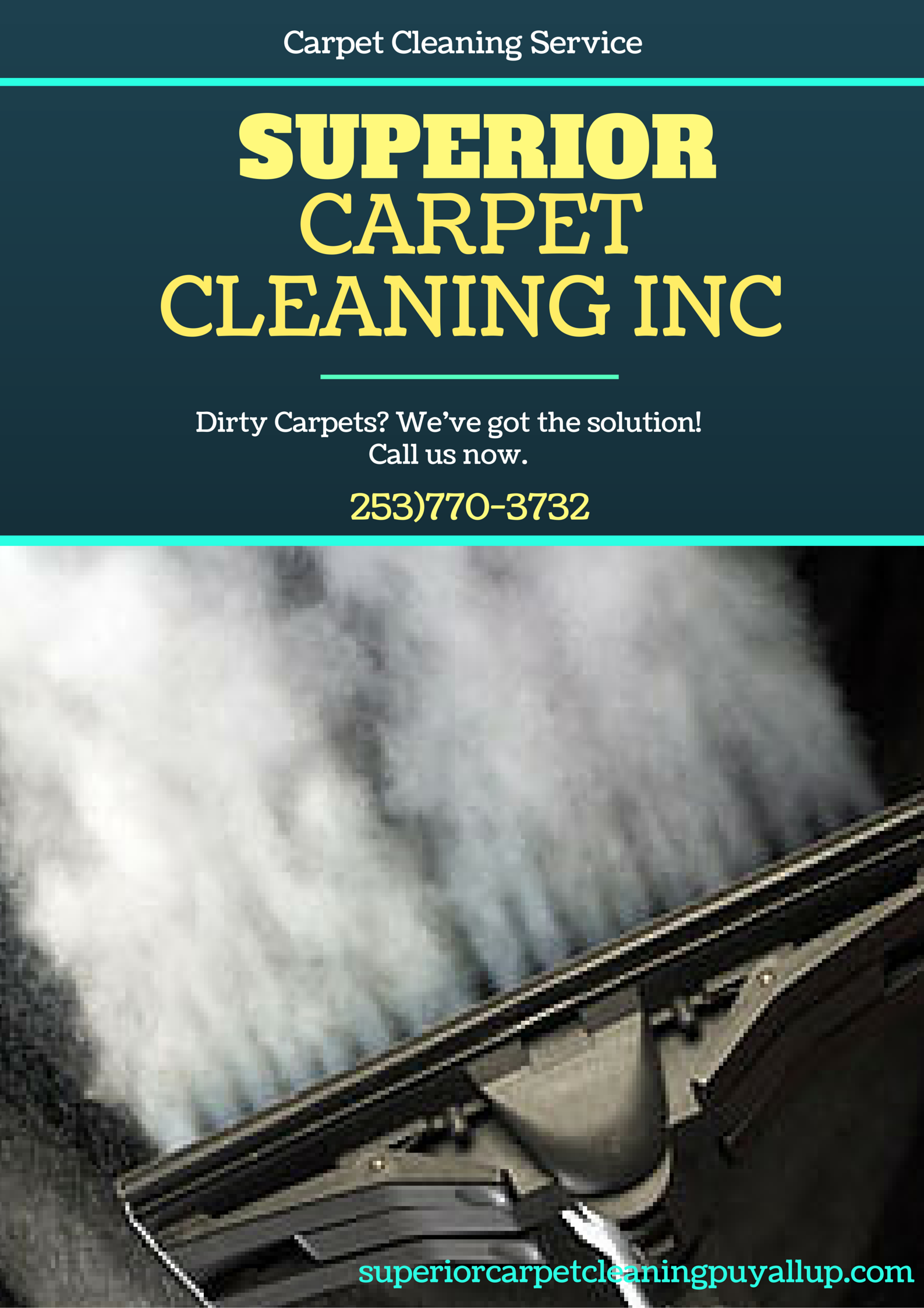 SuperiorCarpetCleaningInc We're Located at Puyallup, WA