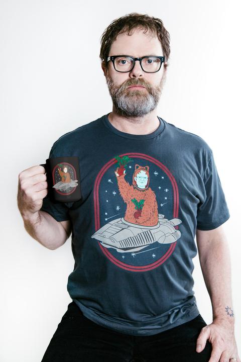 C Harper Chevy >> Rainn Wilson (Dwight Schrute) in an office wearing a Bears ...