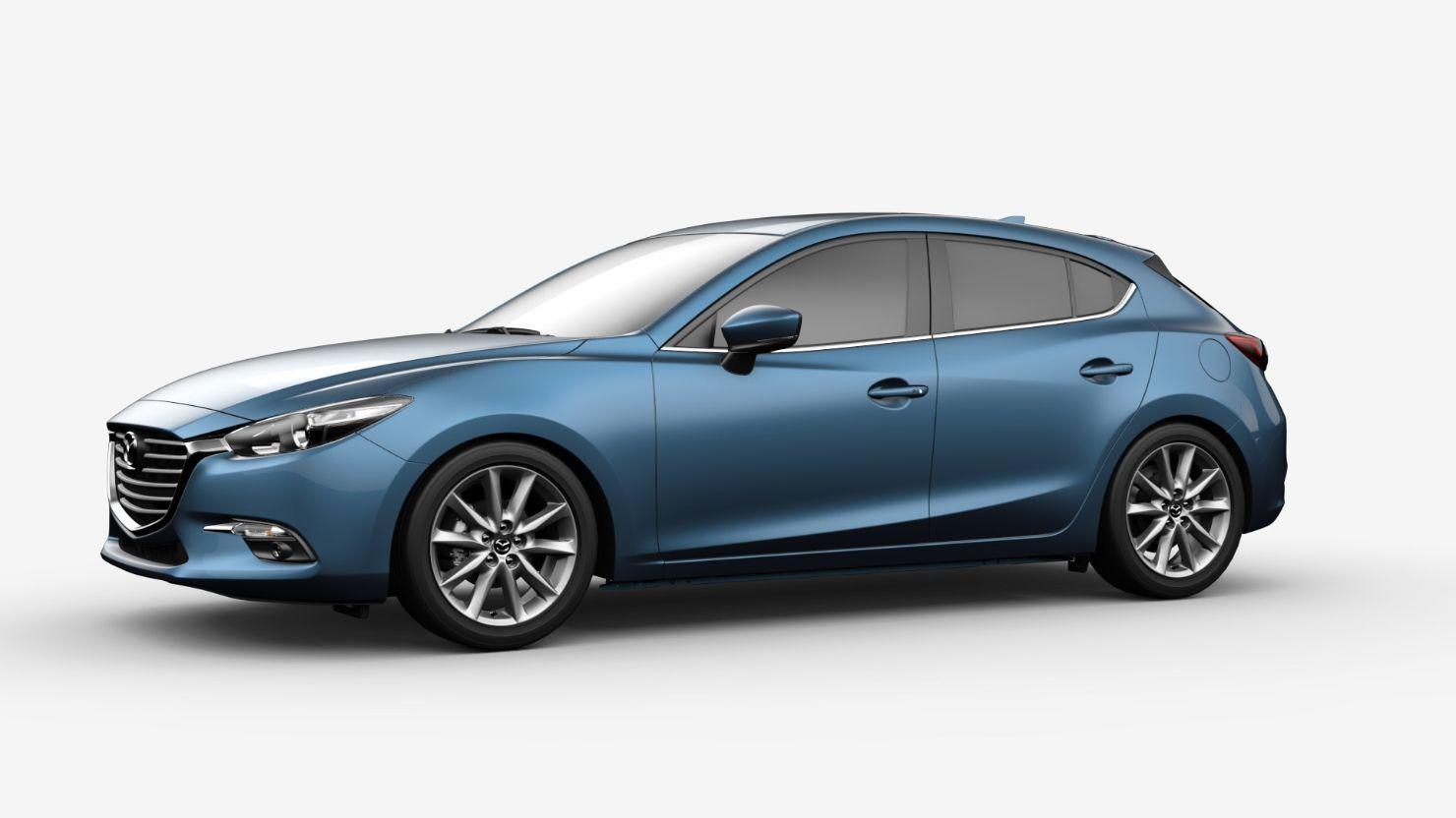 2017 Mazda 3 Hatchback Fuel Efficient Compact Car Usa
