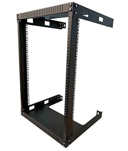 Kenuco 15u Open Rack Wall Mount Bracket Kenuco Wall Mount Frames On Wall Open Frame