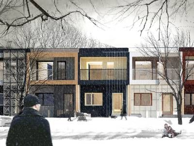 Deep Performance Dwelling built in Montreal for Solar Decathlon China 2018