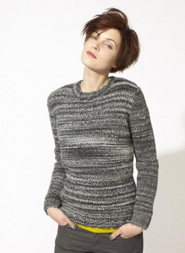 08 Pull Fil Curly Tricotheque Modele Tricot Gratuit Modeles De Pull En Tricot Tricot