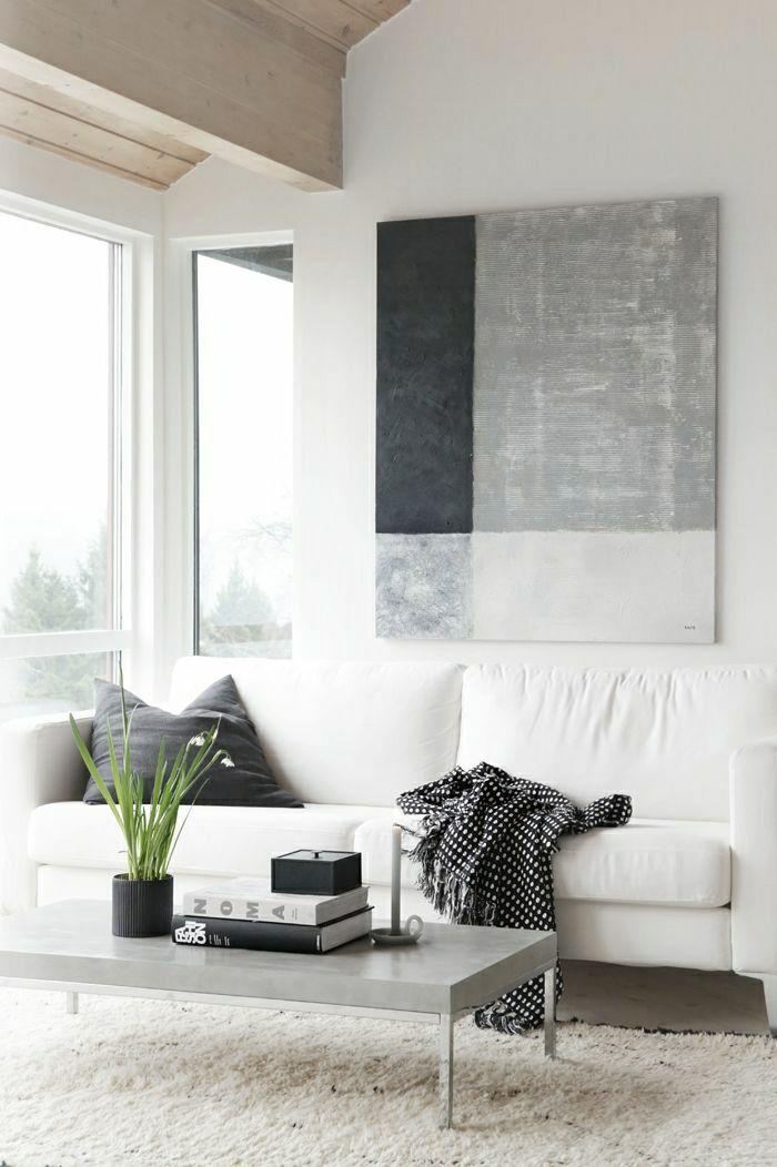 einrichtungsideen f rs wohnzimmer in 45 fotos dekoideen. Black Bedroom Furniture Sets. Home Design Ideas