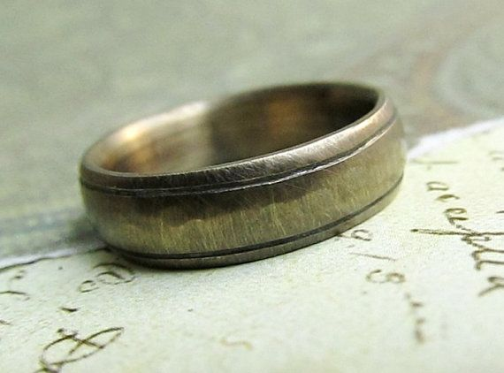 Rustic Men S Wedding Band 14k Yellow Gold By Jcmetalsmithjewelry Yellow Gold Mens Wedding Ring Mens Rustic Wedding Bands Mens Wedding Bands