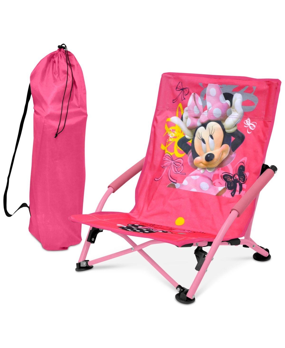 Disney Minnie Mouse Kids Folding Lounge Chair Quick Ship Minnie