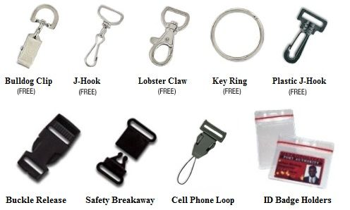 Image Gallery Lanyard Clips