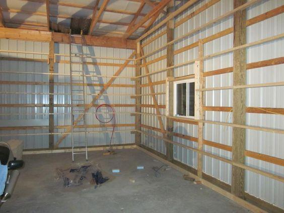 Pole Barn Wall Framing Archive The Garage Journal