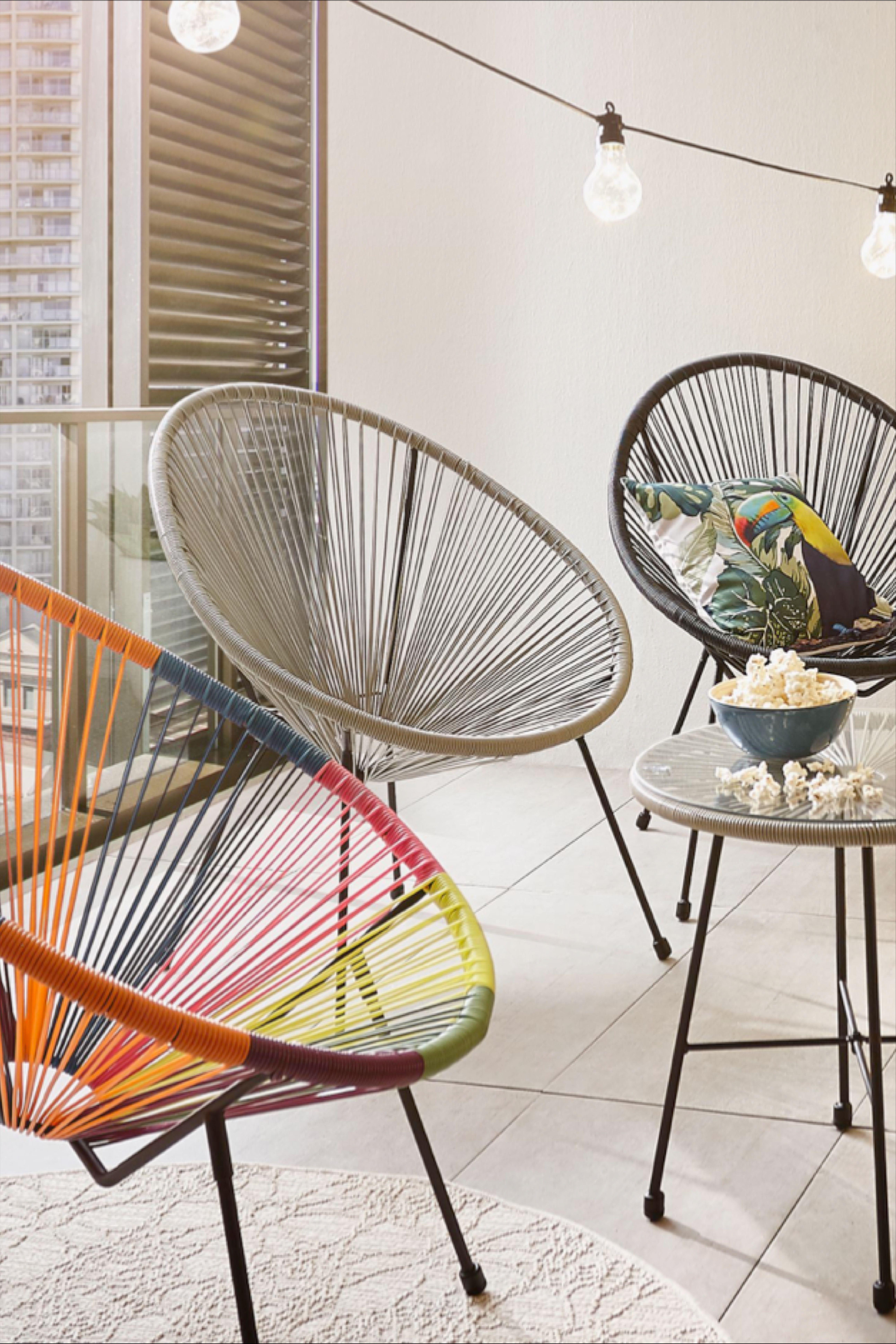 Bunter Summerflair Auf Dem Balkon Haus Deko Coole Mobel Dekor
