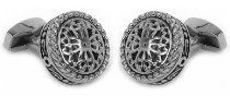 Stainless Steel Filigree Cufflinks by Cuff-Daddy http://astore.amazon.com/ahoy-20/detail/B004WLNHK8