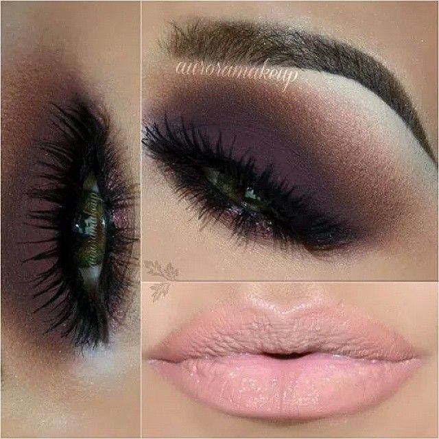 What's more beautiful than smokey eyes and a nude lip!? LOVE #fave