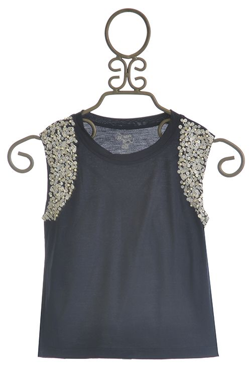 8029942a3e1 Flowers By Zoe Sequin Sleeve Top for Girls Dresses For Tweens