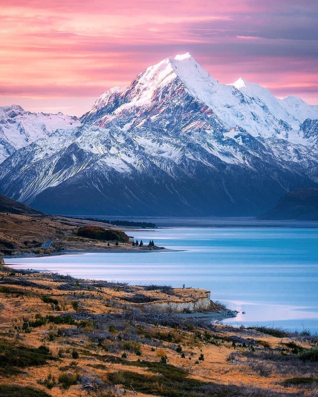 Aoraki Mount Cook New Zealand Mostbeautiful Fine Art Landscape Photography Fine Art Landscape Landscape Photography