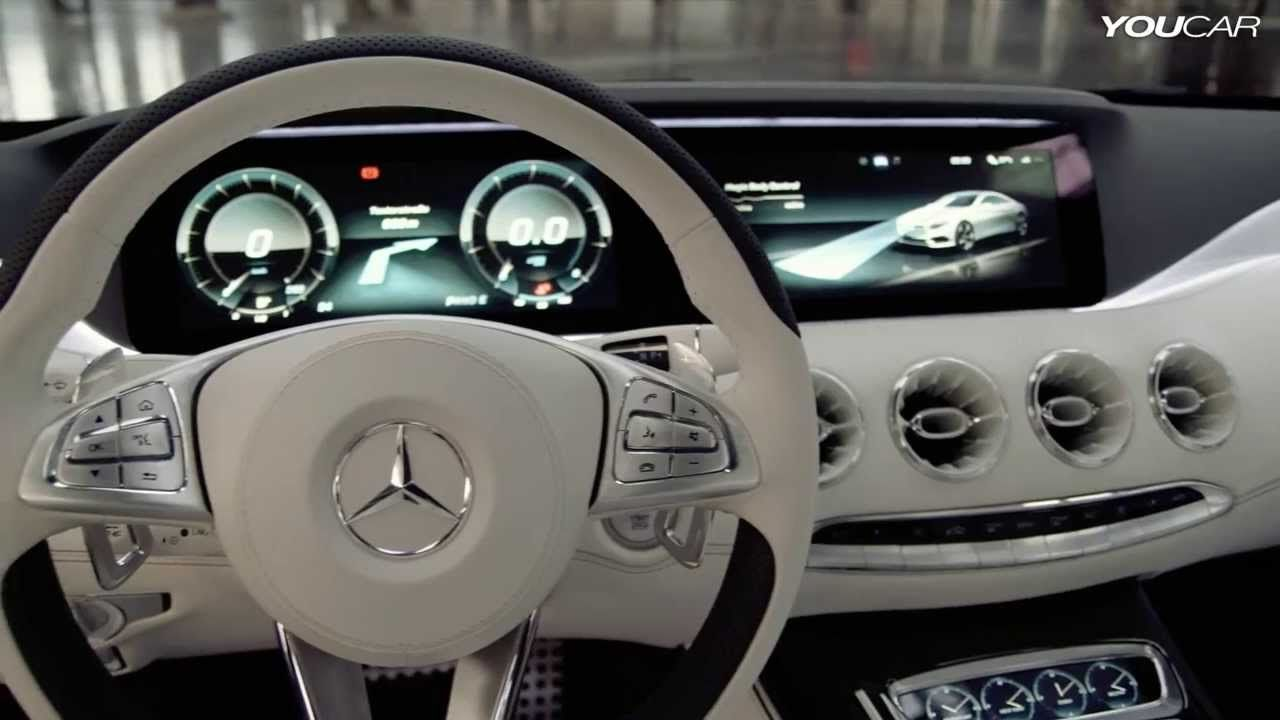 Mercedes S Class Coupe Concept Interior Mercedes Concept