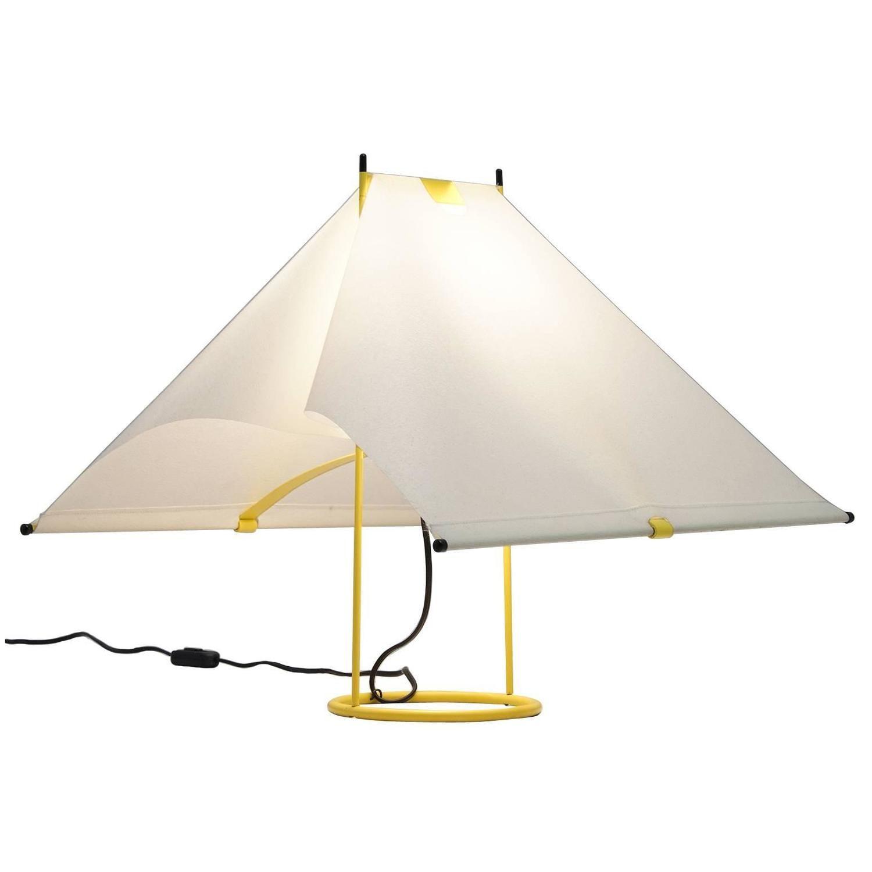 Piero De Martini Yellow Table Lamp For Arteluce