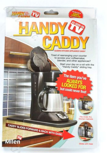 Handy Caddy Sliding Tray For Kitchen Liances As Seen On Tv