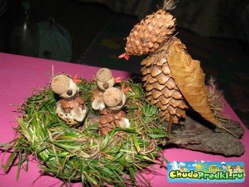 Поделки осень в детский сад своими руками фото по шагам