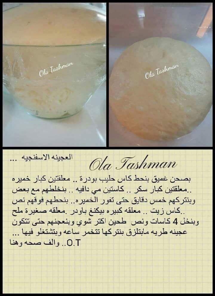 عجينة البيتزا Arabic Food Middle Eastern Recipes Arabic Sweets