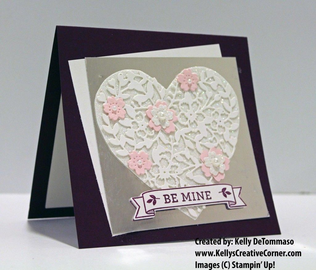Kellyscreativecorner Com Blessing Others One Project At A Time Valentines Cards Valentine Stamps Cards Handmade