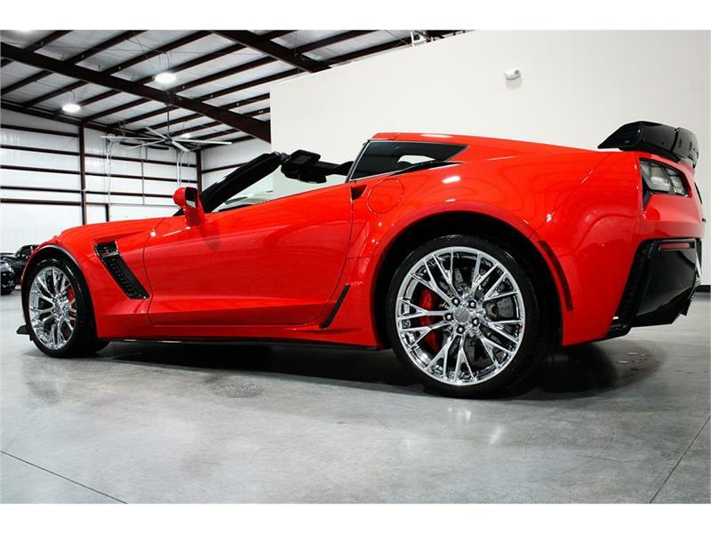 2016 Corvette Coupe For Sale In South Carolina 2016 Z06 3lz Z07 Ceramic Brakes Wow Corvette Red Corvette Corvette For Sale