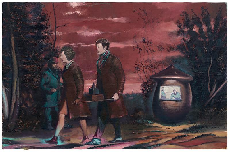 Neo Rauch Durch Die Nacht 2018 Kunst Ideen Surrealistische Fotografie Neo Rauch