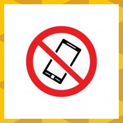 No Phone Allowed Symbol Black Telephone Icon Inside Crossed Out Red Circle Symbols Telephone Icon