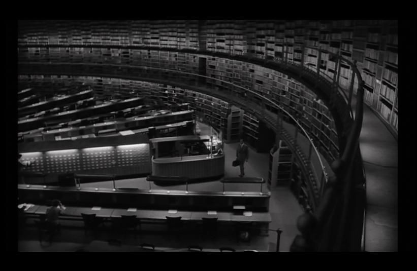 The Night of the Demon Library Scene. This scene was actually shot in the British Museum's reading room - the former home of the British Library!