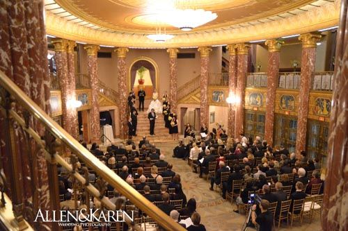 Audra James Severance Hall Wedding
