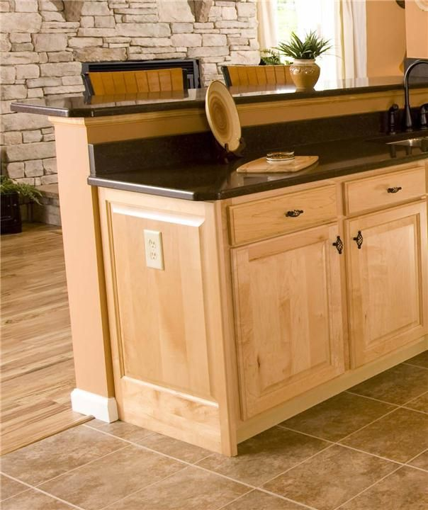 Cabinet End Panel Kitchen Islands Pinterest Kitchens Walls And House
