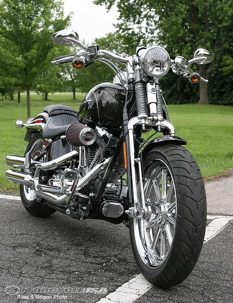 Harley-Davidson Springer Front End #HarleyDavidsonSoftail
