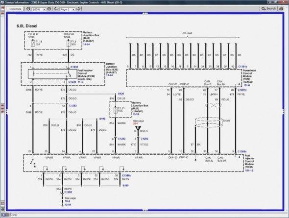 6 0 Powerstroke Injector Wiring Diagram Powerstroke Diagram Diesel Mechanics