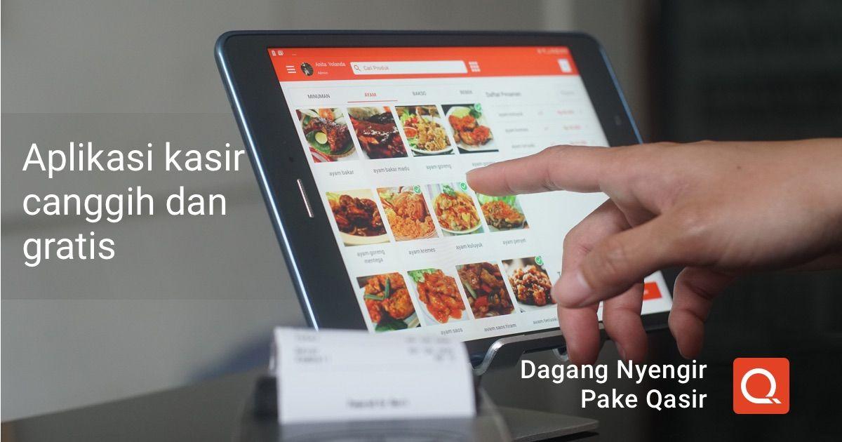 Aplikasi Kasir Gratis Paling Gampang Berbasis Online Di Smartphone Yang Memudahkan Pedagang Dalam Bertransaksi Dengan Pelanggan Di Belajar Smartphone Aplikasi