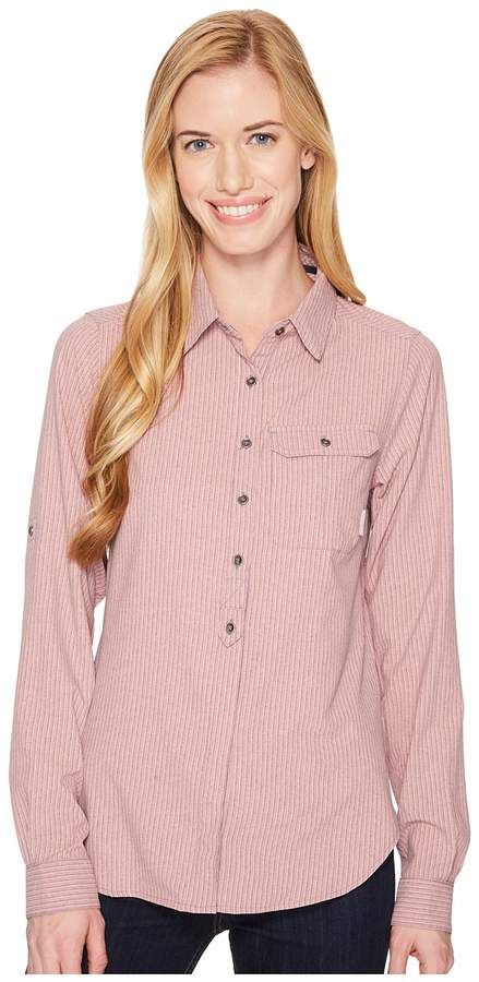 755c24bb Columbia Bryce Canyon Stretch Long Sleeve Shirt Women's Long Sleeve Button  Up