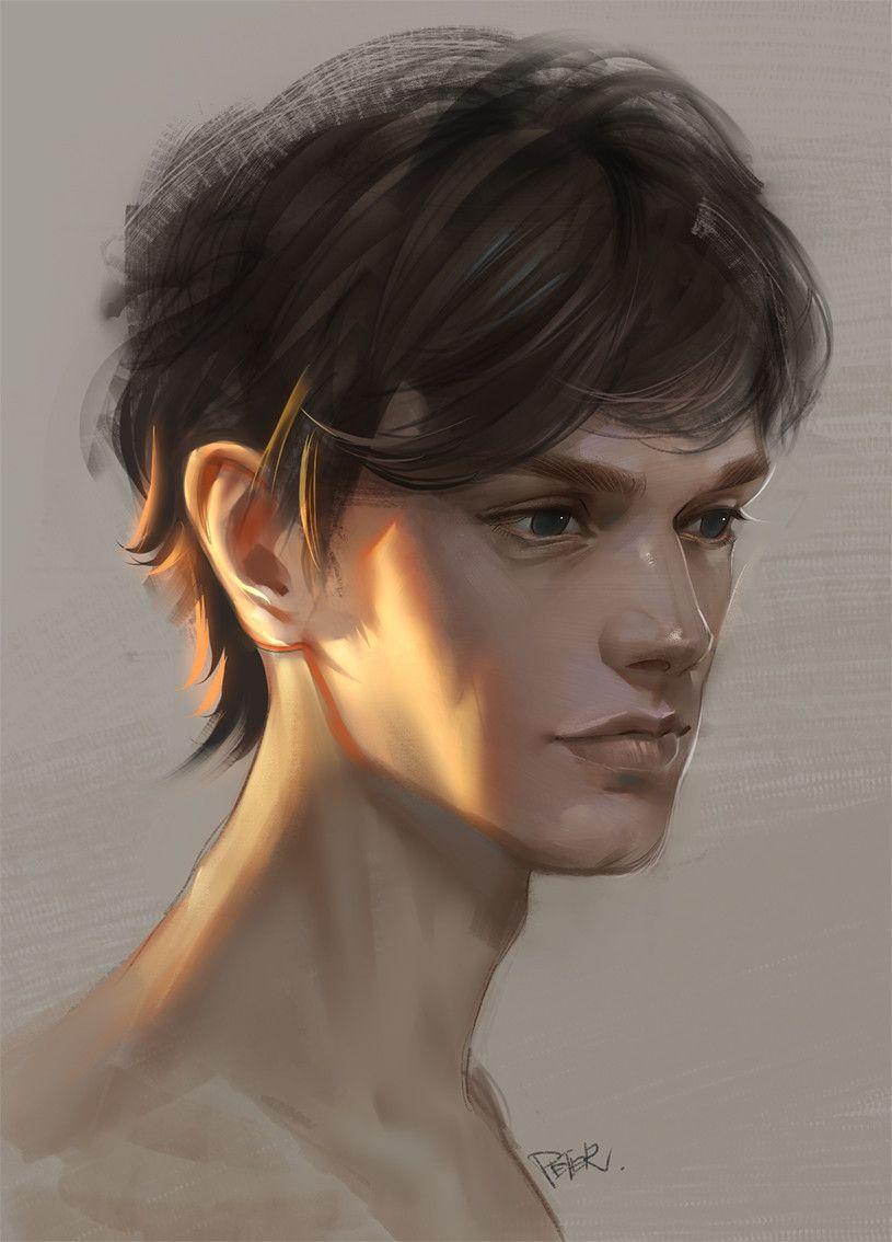 Peter Xiao 519 Digital Portrait Art Digital Art Beginner Digital Portrait